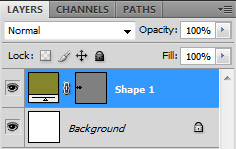 object layer and background