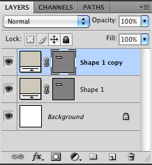 Duplicate the shape layer
