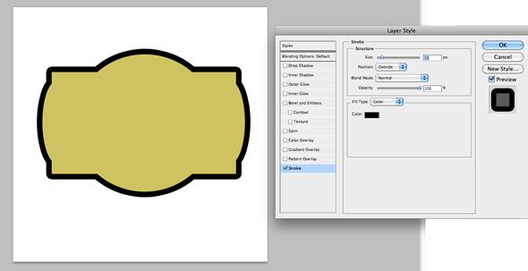 layer styles - stroke