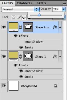 Turn off inner shadow effect