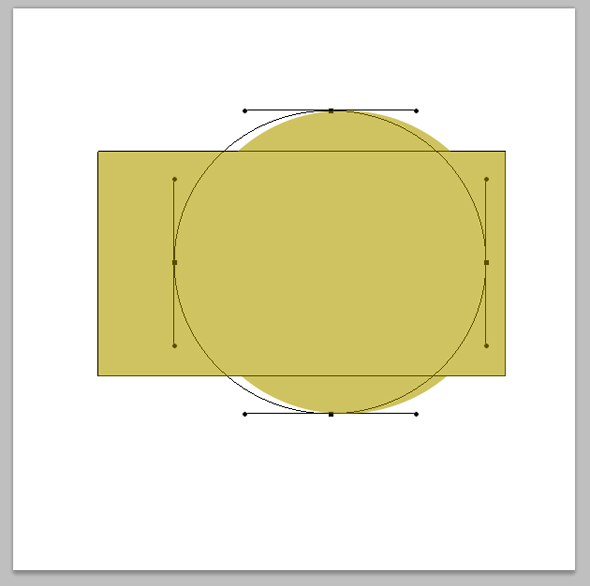 click and drag shape to new position