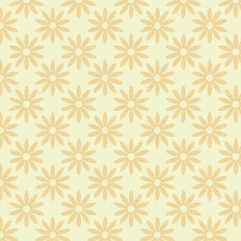 green flower pattern 2