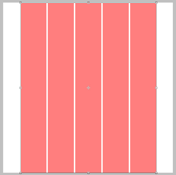 Stretch the grid over the canvas