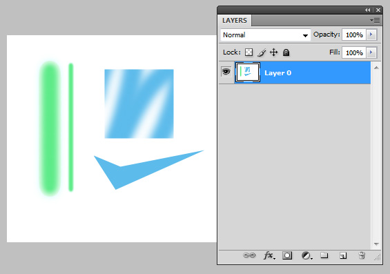 Use the tools to create shapes like the above