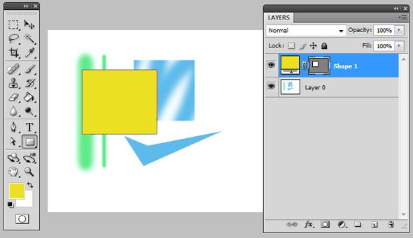 New shape & layer