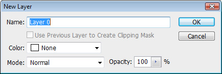 Double click to unlock the initial layer