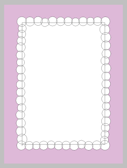 add circles to each side of the rectangle
