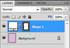 All the shapes drawn should have been added or subtracted from the initial rectangle
