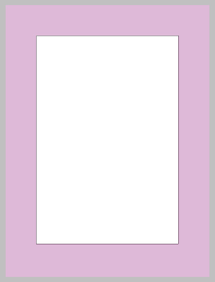 draw initial rectangle leaving space on the outside