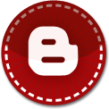 Blogger red stitch icon