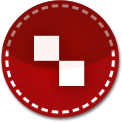 Delicious red stitch icon