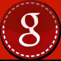 Google red stitch icon