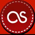 Last FM red stitch icon