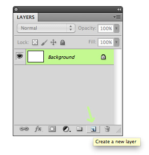 Create a new layer icon