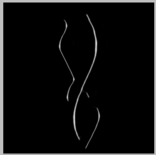 Distorted Wavy Lines