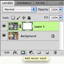 Add a layer mask