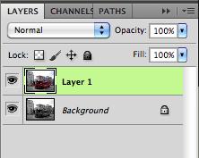 turn on top layer