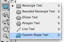 Choose Custom Shape