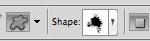 Shape Selected