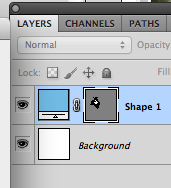 Change colour in the layers palette